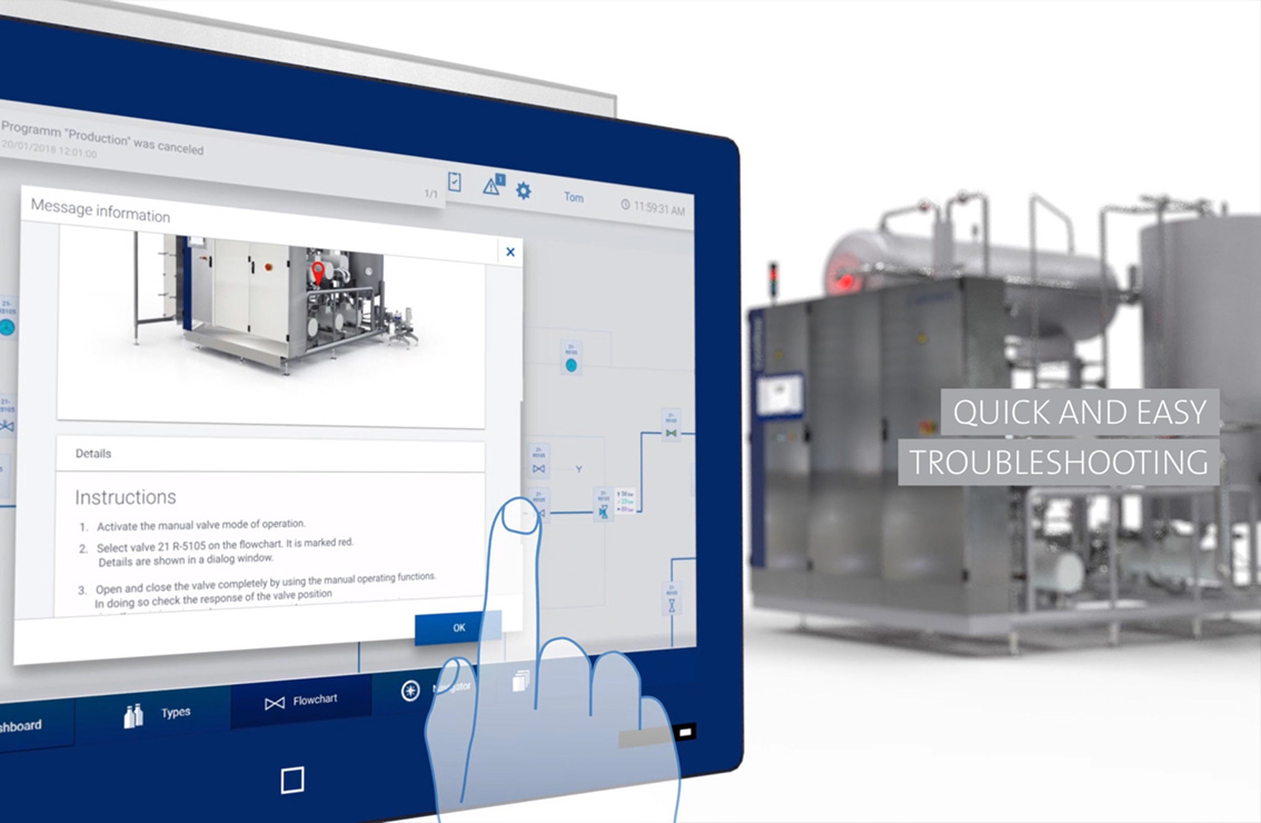 Krones Connected HMI Quick and Easy Troubleshooting