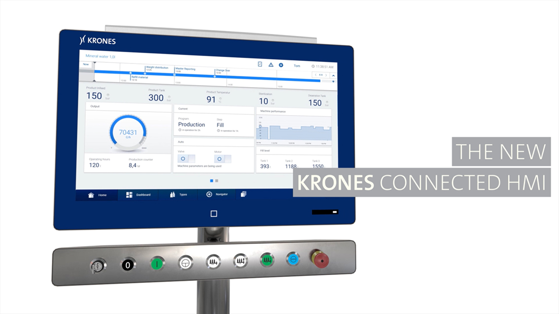 Krones Connected HMI