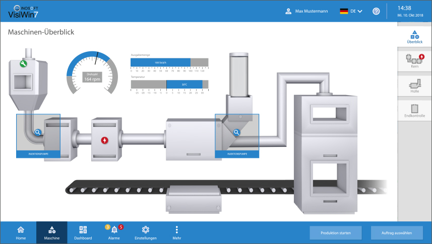 INOSOFT HMI Software VisiWin: Design